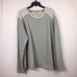 Tommy Bahama grey casual sweatshirt